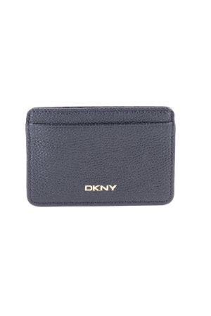 DKNY Kartenetui schwarz-goldfarben Elegant
