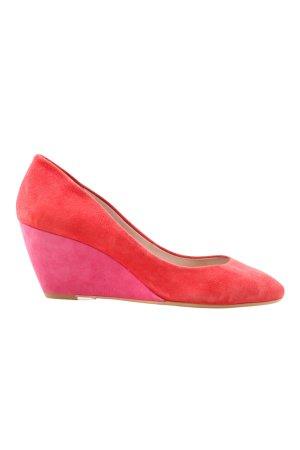 DKNY Keil-Pumps rot-pink Elegant