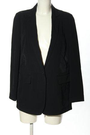 DKNY Klassischer Blazer nero motivo a righe stile casual