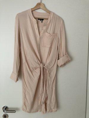 DKNY Abito blusa camicia color carne-rosa pallido