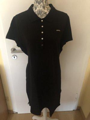 DKNY Sukienka polo czarny Bawełna
