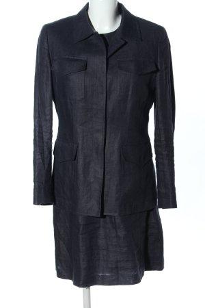 DKNY Traje para mujer gris claro moteado look casual
