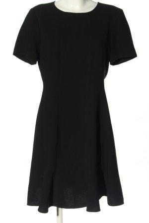 DKNY Kurzarmkleid schwarz Casual-Look