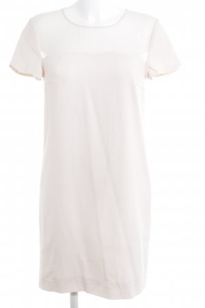 DKNY Kurzarmkleid creme Elegant