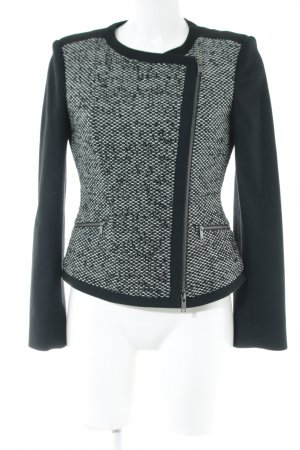 DKNY Kurzjacke schwarz-weiß meliert Elegant