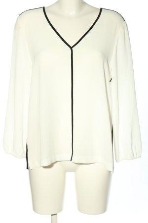 DKNY Long Sleeve Blouse white elegant