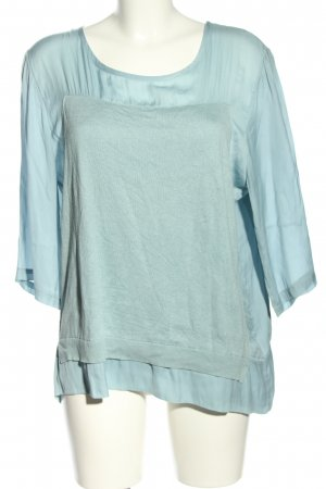 DKNY Langarm-Bluse blau Casual-Look