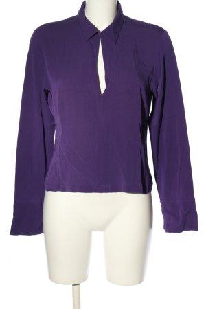 DKNY Blouse à manches longues violet style d'affaires