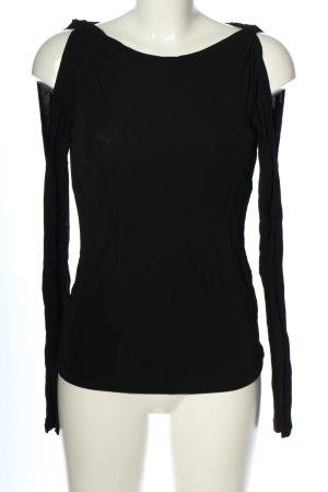 DKNY Blouse à manches longues noir style décontracté