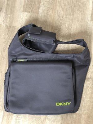 DKNY Laptoptasche Grau Notebook mit Handytasche