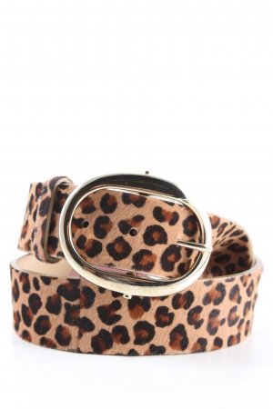 DKNY Leather Belt allover print casual look