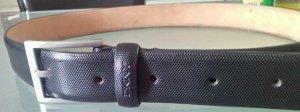 DKNY Cinturón de cuero negro Cuero