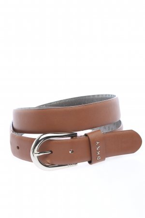 DKNY Faux Leather Belt brown casual look