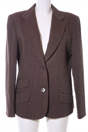 DKNY Long-Blazer bronzefarben Webmuster Business-Look