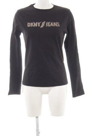 DKNY Longsleeve schwarz Casual-Look
