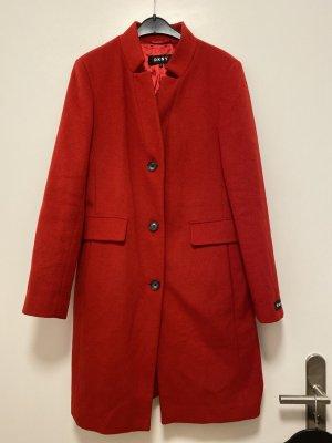 DKNY Cappotto in lana multicolore Tessuto misto