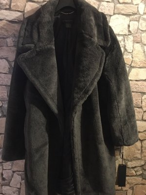 DKNY Oversized Coat dark grey-anthracite