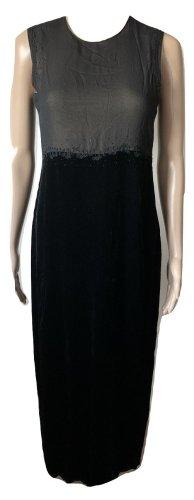 DKNY maxi silk dress