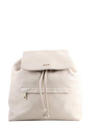 DKNY Mini Backpack cream casual look