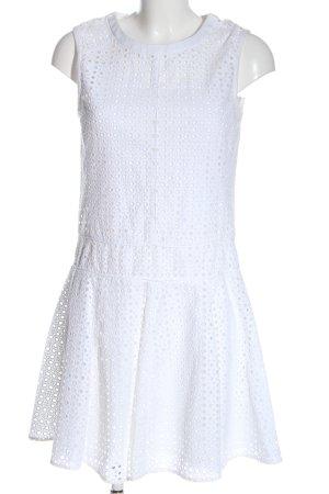 DKNY Mini vestido blanco look casual