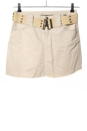 DKNY Mini-jupe crème style décontracté