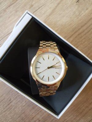 DKNY NY2382 damenuhr gold neu Edelstahl Armbanduhr