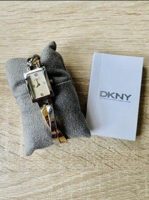 DKNY Montre avec bracelet métallique argenté-doré