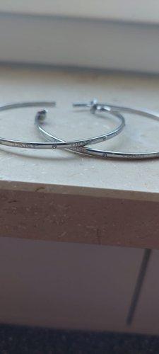 DKNY Srebrne kolczyki srebrny