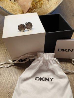DKNY Orecchino a vite argento