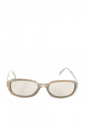 DKNY ovale Sonnenbrille braun Casual-Look