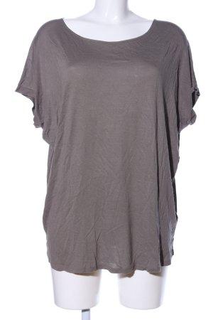 DKNY Oversized Shirt braun meliert Casual-Look
