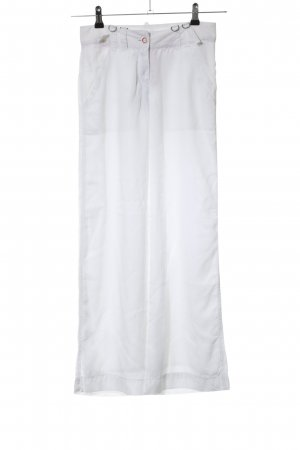DKNY Pantalon palazzo blanc style décontracté