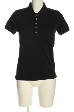 DKNY Polo-Shirt schwarz Casual-Look