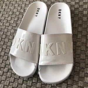 DKNY Sandales à plateforme blanc