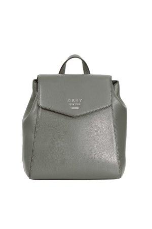 DKNY Sac à dos pour ordinateur portable gris vert cuir