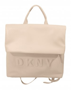 DKNY Mochila para portátiles rosa tejido mezclado
