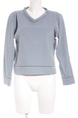 DKNY Rundhalspullover himmelblau schlichter Stil