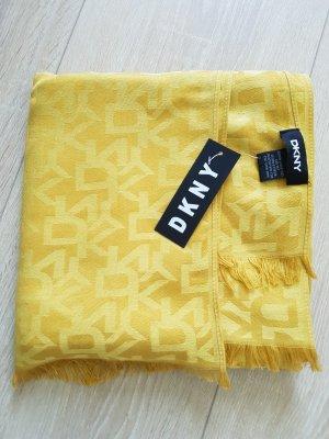 DKNY Sciarpa di seta multicolore