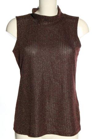 DKNY Sweter bez rękawów z cienkiej dzianiny czerwony W stylu casual