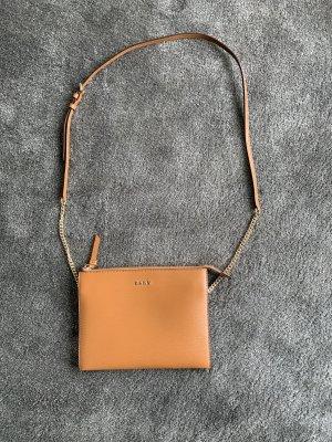 DKNY Shoulder Bag cognac-coloured leather