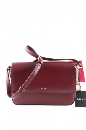 DKNY Schultertasche rot Business-Look