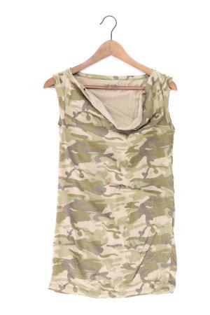 DKNY Shirt Größe M olivgrün aus Baumwolle