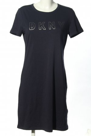 DKNY Shirt Dress black printed lettering casual look