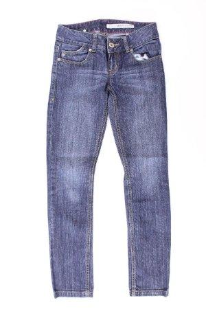 DKNY Jeans skinny bleu-bleu fluo-bleu foncé-bleu azur coton