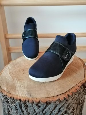 DKNY Zapatillas con velcro azul oscuro