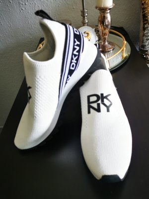 DKNY Basket slip-on blanc-bleu