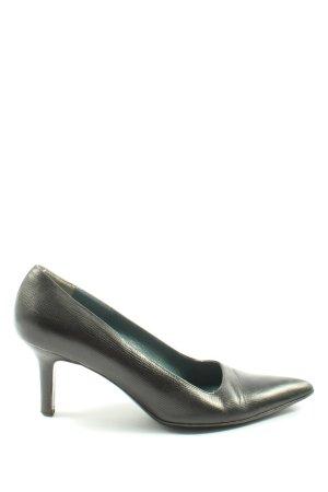 DKNY Zapatos de punta negro estilo «business»