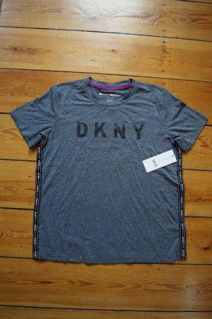 DKNY Sport Shirt Grau Gr.M Funktionsshirt