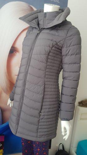DKNY Cappotto trapuntato argento-grigio chiaro
