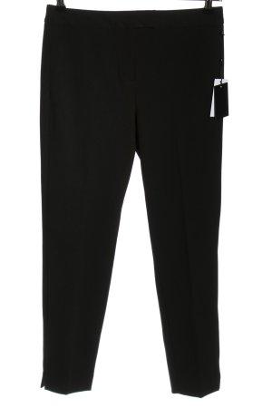 DKNY Pantalone jersey nero stile professionale